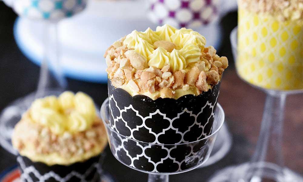 Sans Rival Cupcakes