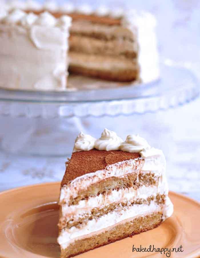 how to make Tiramisu Cake