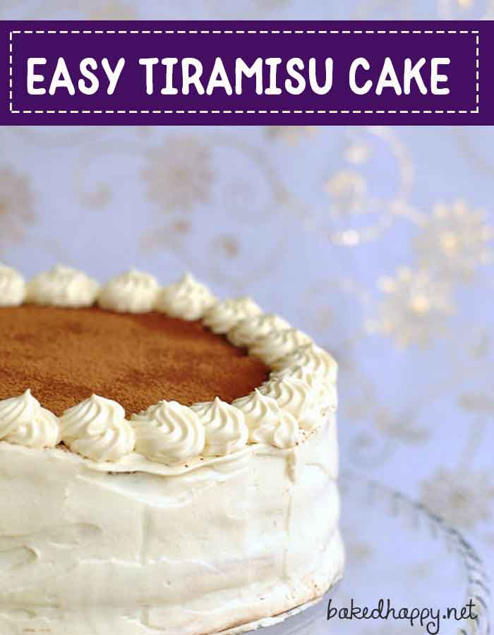 Best Tiramisu Cake Recipe